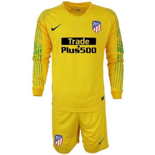 Детская форма вратаря Atletico Madrid Гостевая 2018/19 (рост 100 см)