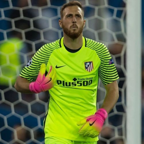 Детская форма вратаря Atletico Madrid Домашняя 2016/17 лонгслив (рост 164 см)