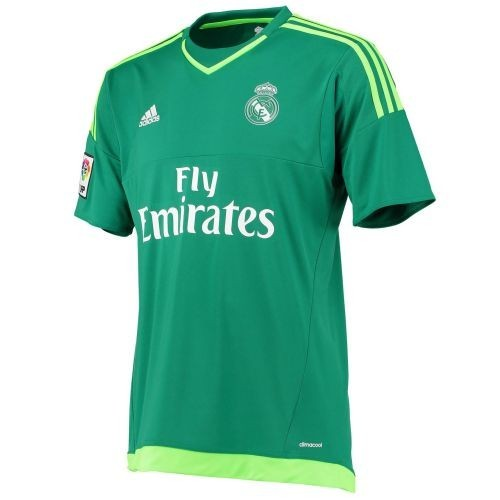 Детская форма вратаря Real Madrid Гостевая 2015/16 (рост 116 см)